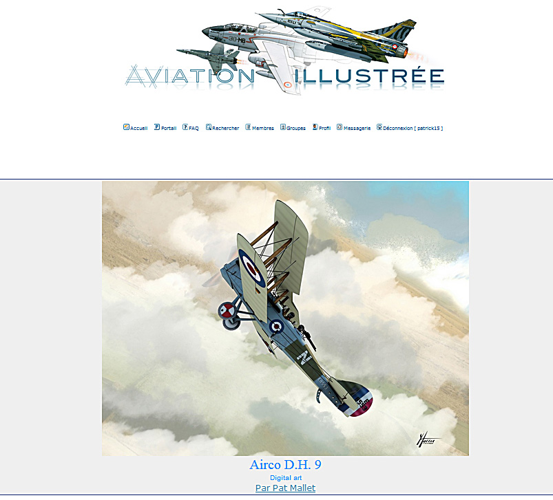 aviation illustrée